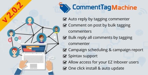 Download Free] CommentTag Machine - A EZ Inboxer Add-on for