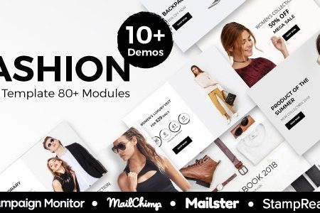 Download Free] Fashion - Ecommerce Responsive Email Template