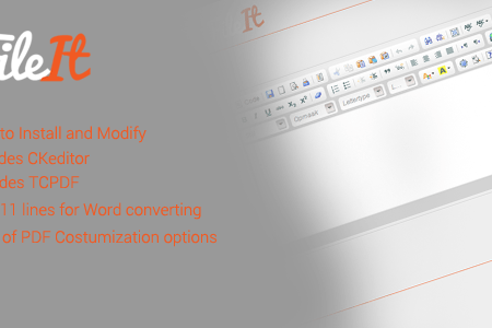 Download Free] FileIt - HTML to Word/PDF Nulled