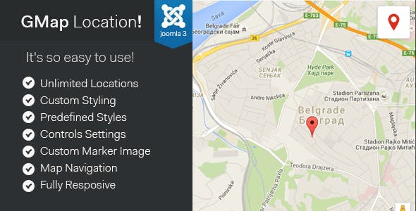 Download Free] GMap Location! - Joomla Google Maps Module Nulled