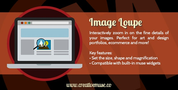 Download Free] Image Loupe Widget for Adobe Muse Nulled