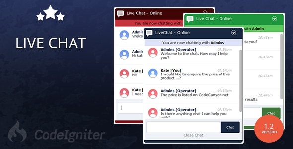 Free Download Live Chat - PHP AJAX Real Time Chat System