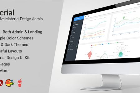 Download Free] Material Design AngularJS Admin Web App with