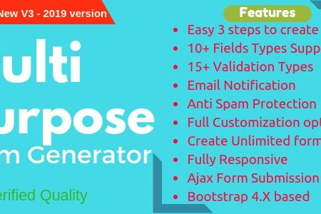 Download Free] Multi-Purpose Form Generator (Contact forms