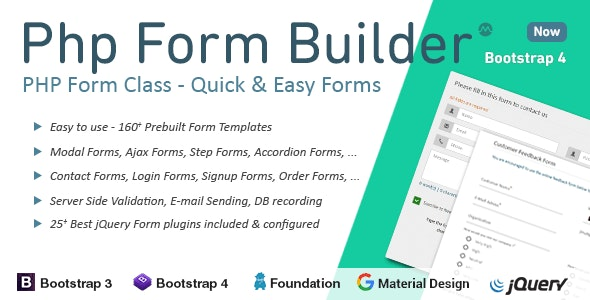 Download Free] PHP Form Builder Nulled