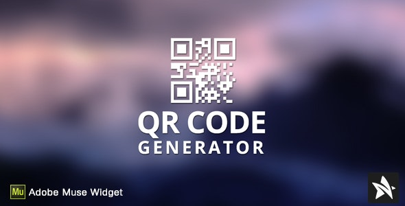 Download Free] QR Code Generator for Adobe Muse Nulled