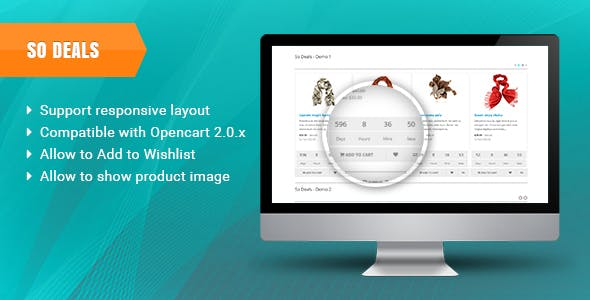 Download Free] So Deals - Responsive OpenCart 3 0 x