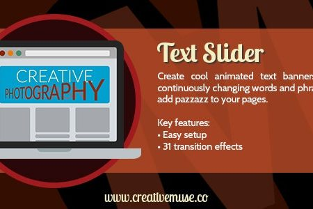 Download Free] Text Slider Widget for Adobe Muse Nulled