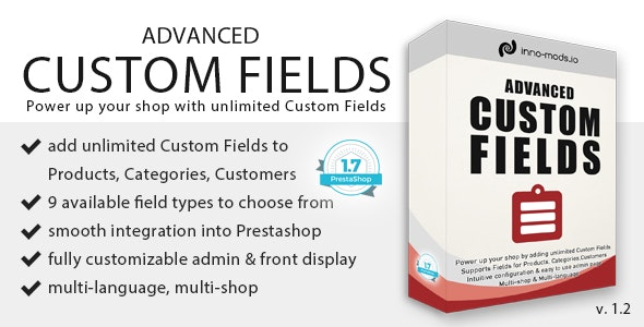 Download Free] Advanced Custom Fields for Prestashop Nulled