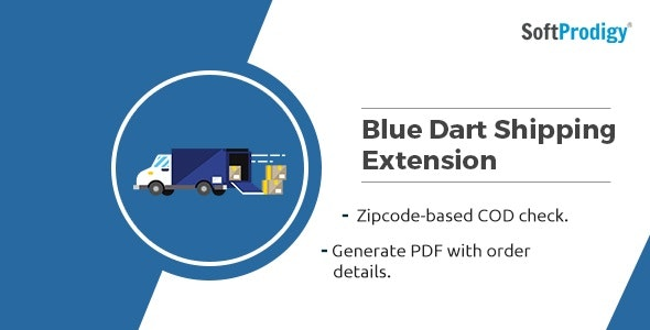 Download Free] Blue Dart Shipping Integration Magento1 Extension Nulled
