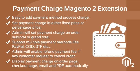 Download Free] Payment Charge Magento 2 Extension Nulled