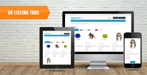 Download Free] So Listing Tabs - Responsive OpenCart 3 0 x